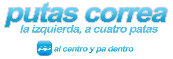Correa avisos putas
